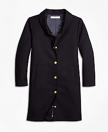 Melton Long Coat