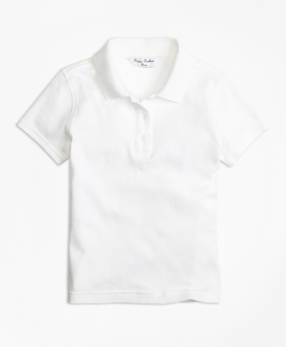 Short-Sleeve Polo White