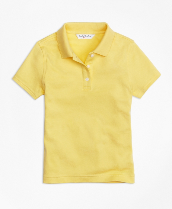 Short-Sleeve Polo Yellow