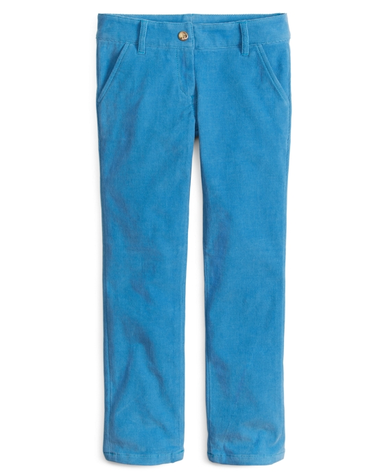 Corduroy Skinny Pants Blue