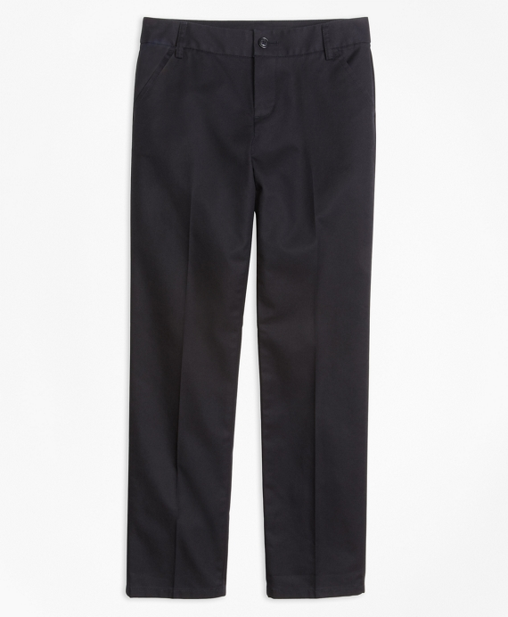 Non-Iron Chino Pants Black