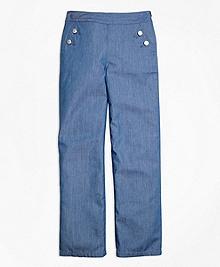 Chambray Pants