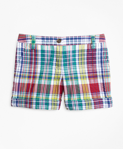 Cotton Madras Shorts