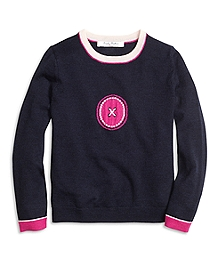 Merino Wool Intarsia Sweater