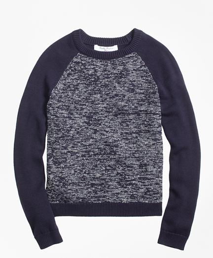 Cotton Baseball Sweater