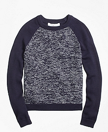 Cotton Baseball Sweater