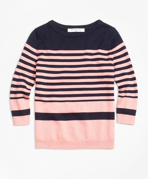 Supima® Cotton Stripe Sweater
