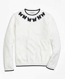 Supima® Cotton Intarsia Sweater