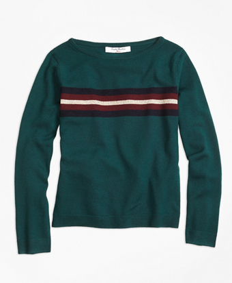Merino Wool Boatneck Sweater
