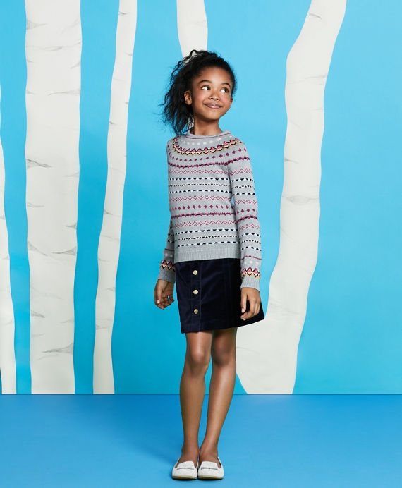 Merino Wool Fair Isle Sweater - Brooks Brothers