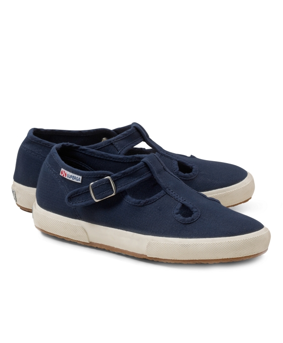 Superga® T-Strap Sneakers Navy