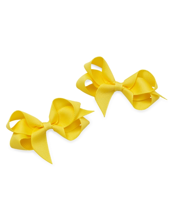 Grosgrain Bow Clip Maize