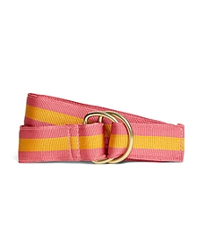 Stripe Ribbon Belt
