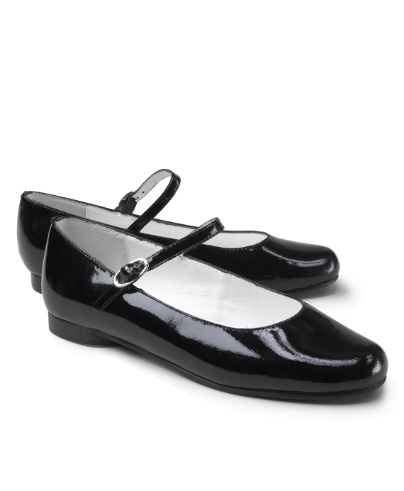 Patent Leather Mary Janes Black