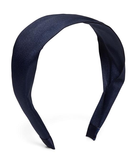 Wide Headband Navy