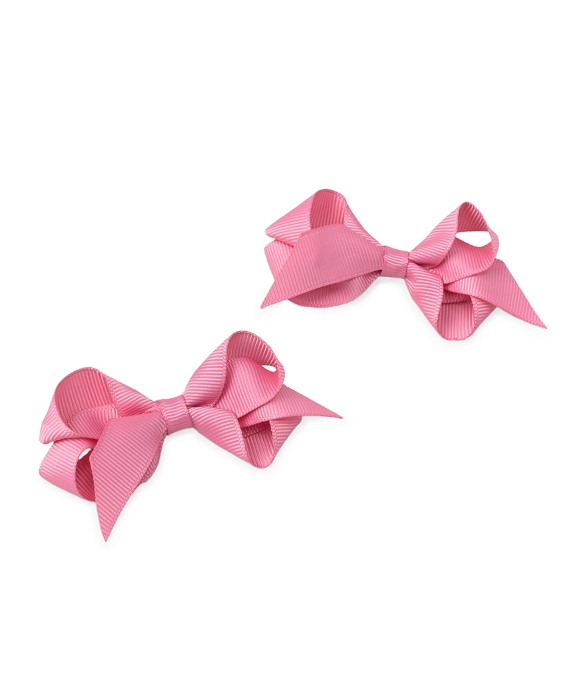 Small Bow Clip Rose