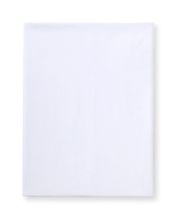 Herringbone King Fitted Sheet White