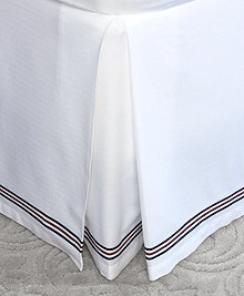 Herringbone King Bed Skirt