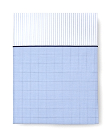 Glen Plaid King Flat Sheet