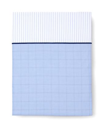 Glen Plaid King Flat Sheet