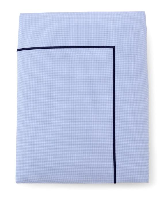 Mini Houndstooth Full/Queen Duvet Cover Blue