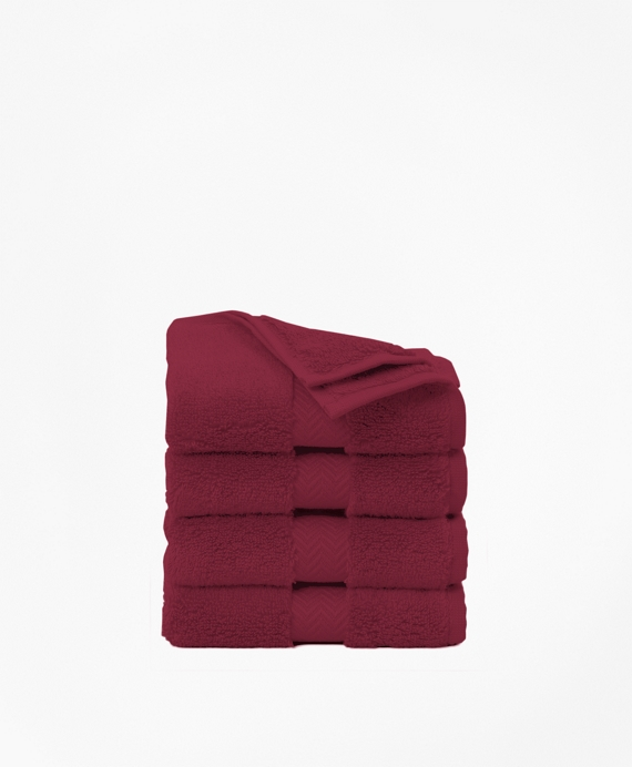 Terry Washcloth Burgundy