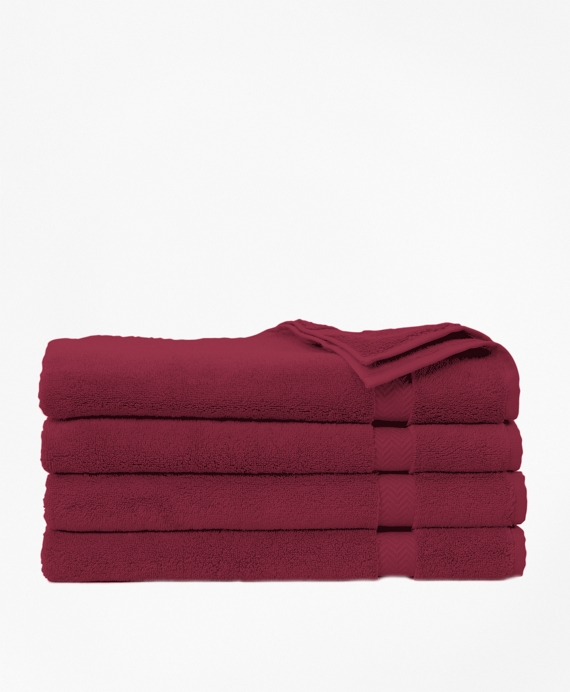 Terry Hand Towel Burgundy