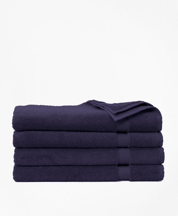 Terry Hand Towel Navy