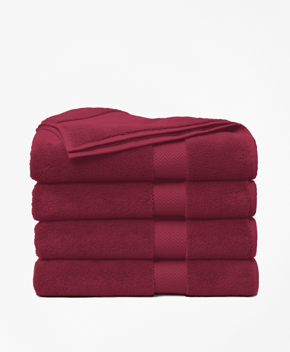 Terry Bath Towel Burgundy