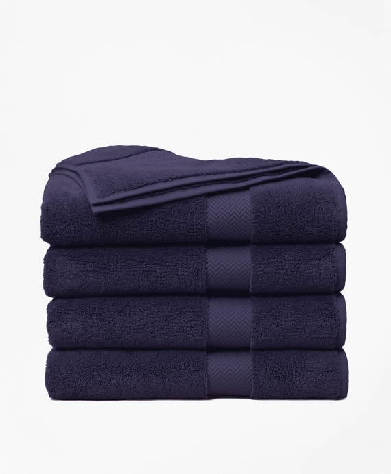 Terry Bath Towel Navy
