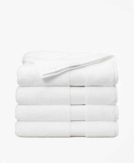 Terry Bath Towel White