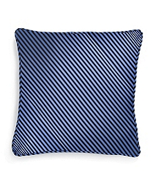 "Vertical Jockey Stripe 16"" Square Pillow"