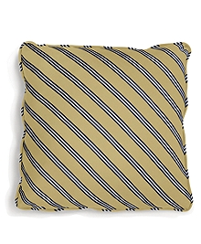 Diagonal BB#1 Repp Stripe 18&quot Square Pillow