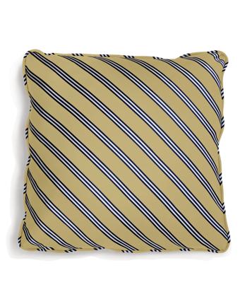 Diagonal BB#1 Rep Stripe 18&quot Square Pillow