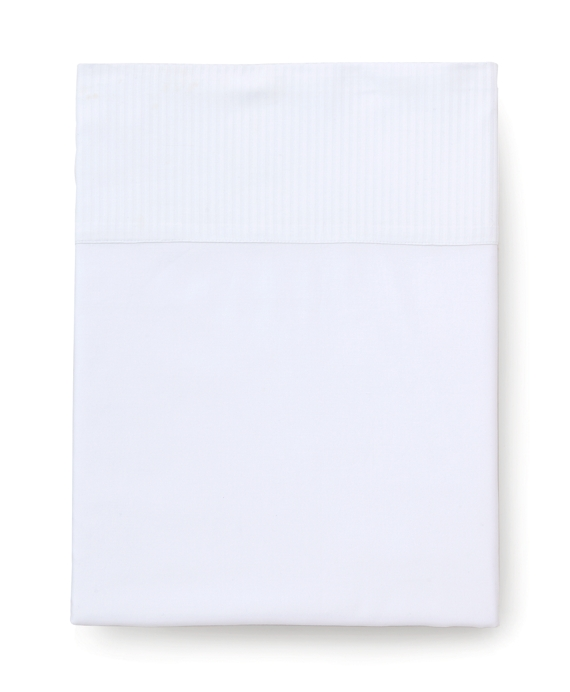 Sateen Queen Flat Sheet White