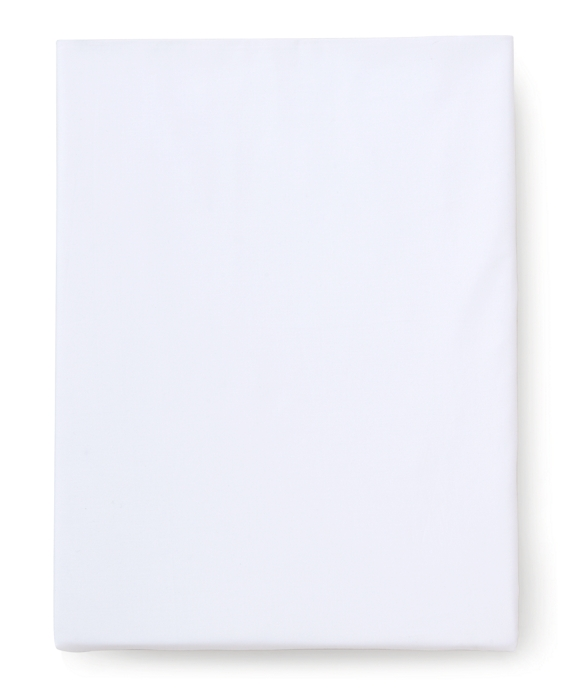 Sateen Queen Fitted Sheet White