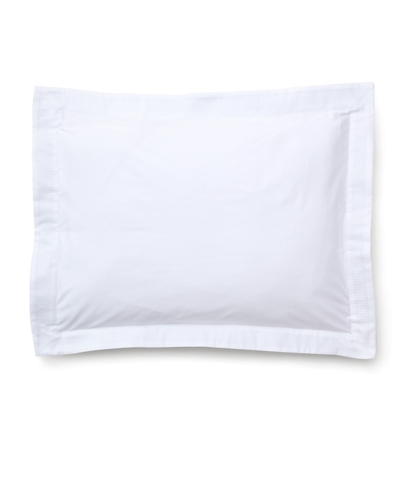 Sateen King Sham White