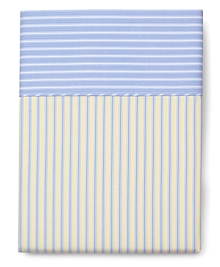 Stripe Full Flat Sheet