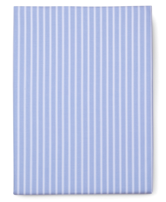 Stripe Queen Fitted Sheet Blue-White