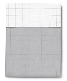 Glen Plaid Queen Flat Sheet