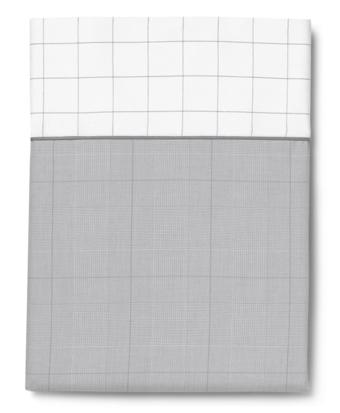 Glen Plaid Queen Flat Sheet