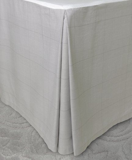 Glen Plaid Queen Bed Skirt