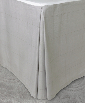 Glen Plaid Queen Bed Skirt