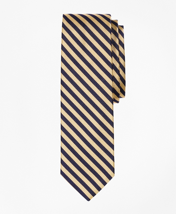 BB#5 Repp Slim Tie Gold-Navy