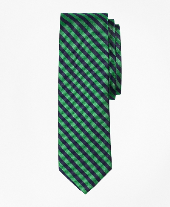 BB#5 Repp Slim Tie Green-Navy