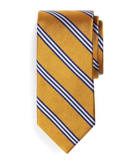 Mini BB#1 Stripe Slim Tie