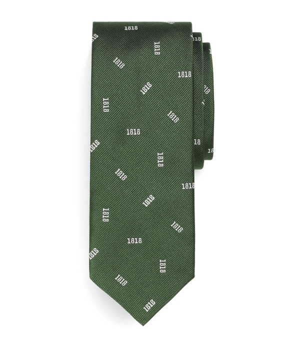 Tossed 1818 Slim Tie Green