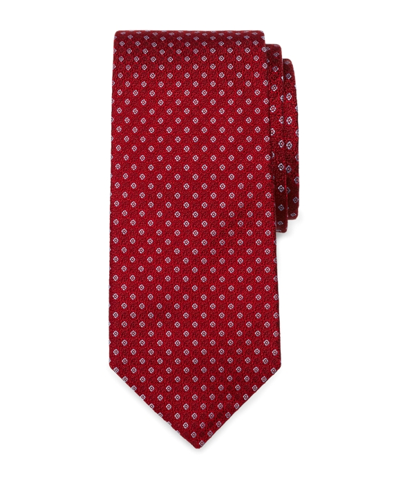 Small Square Tie Red
