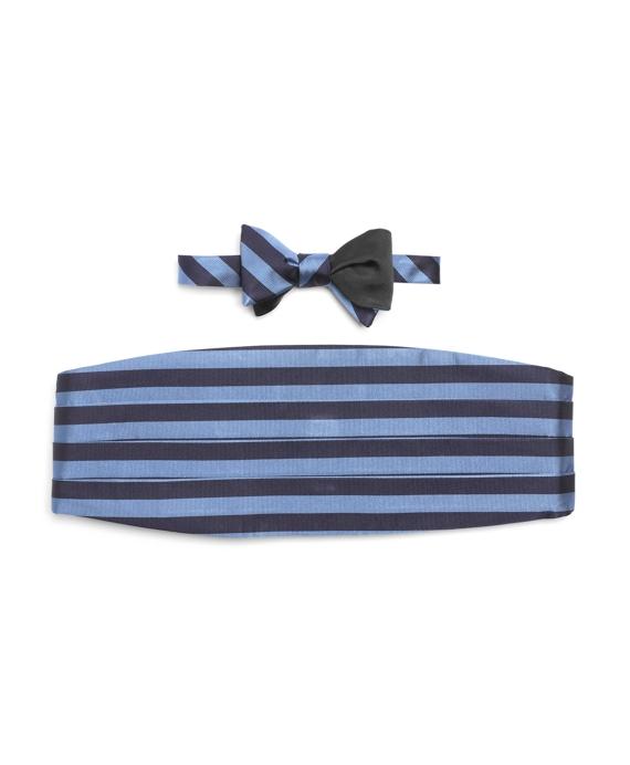 The Social Primer Reversible Bow Tie with Cummerbund