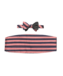 The Social Primer Reversible Bow Tie with Cummerbund